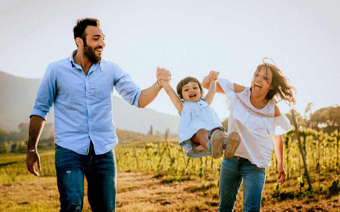 Valentina, Lorenzo e Mia – Family Portrait